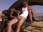 Blowjob in der Wüste